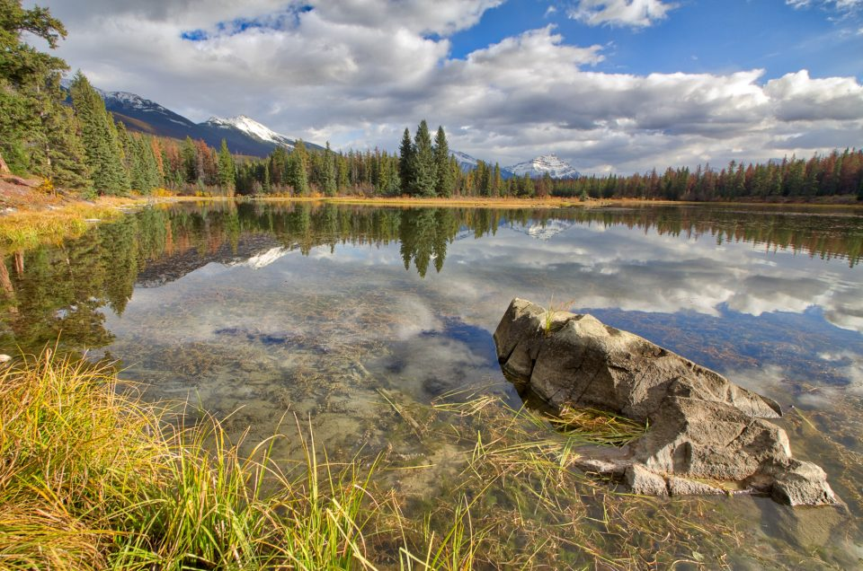 Wabasso Lake-Jasper National Park
