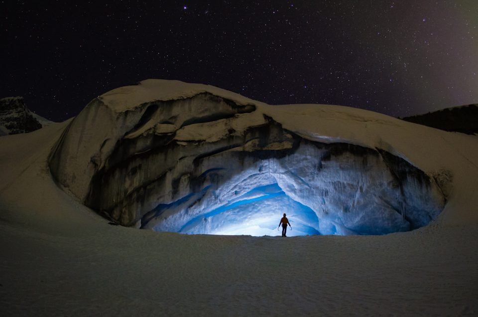 Athabasca Ice Cave, Jasper National Park