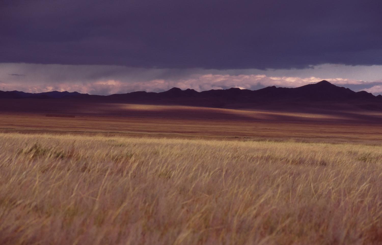 Approaching storm Tuv Aimag, Mongolia